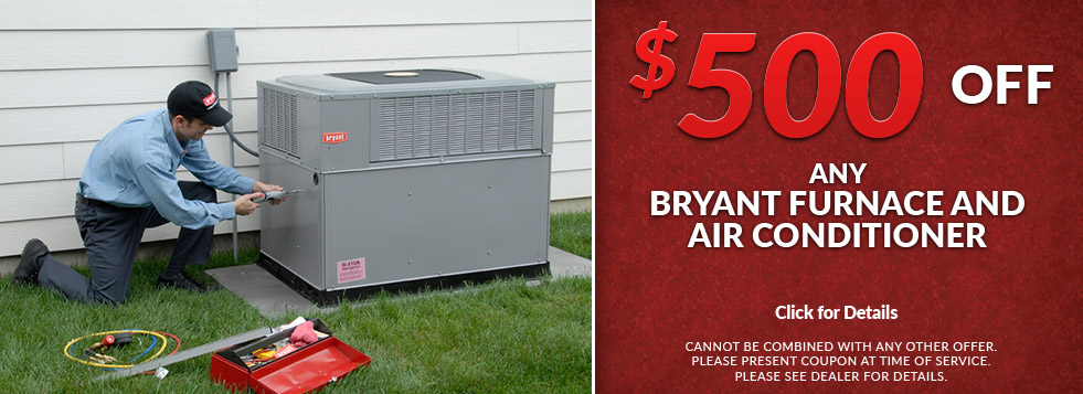 Save 500 Off Any Bryant Ac Or Furnace